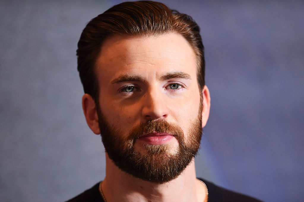 "Chris Evans attends a photocall for ""Captain America: Civil War"" at Corinthia Hotel London on April 25, 2016 in London, England."