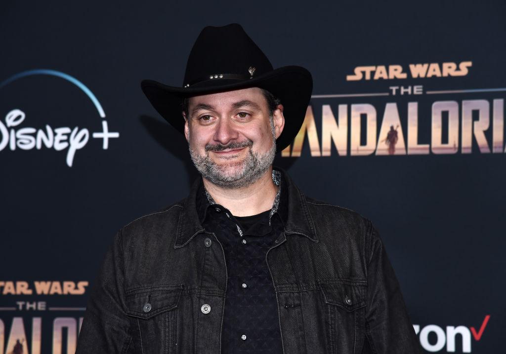 Dave Filoni at the premiere of Disney+'s 'The Mandalorian' at the El Capitan Theatre on November 13, 2019.