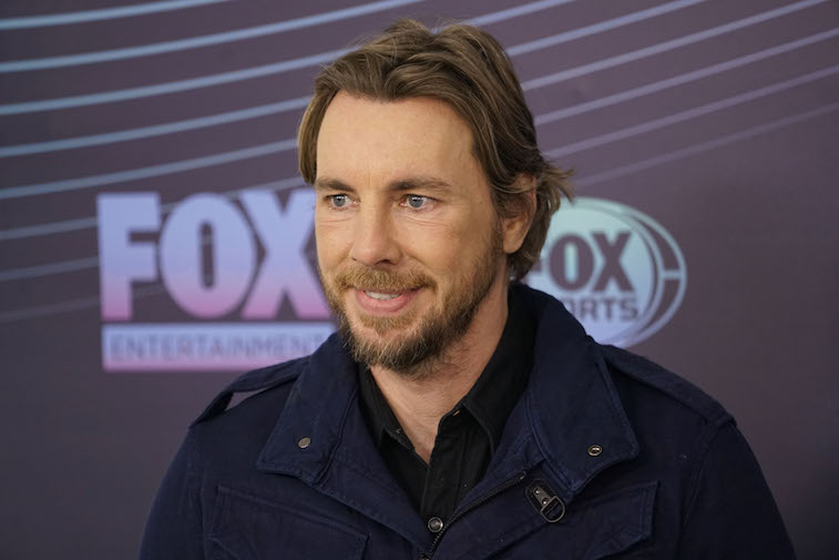 Dax Shepard on the red carpet