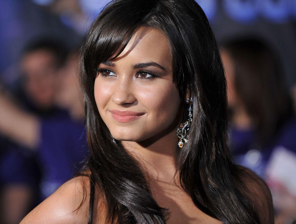 Demi Lovato on February 24, 2009
