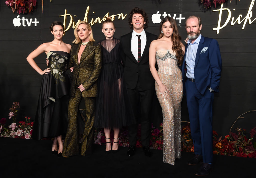 The cast of 'Dickinson' at the premiere of the show in New York City.