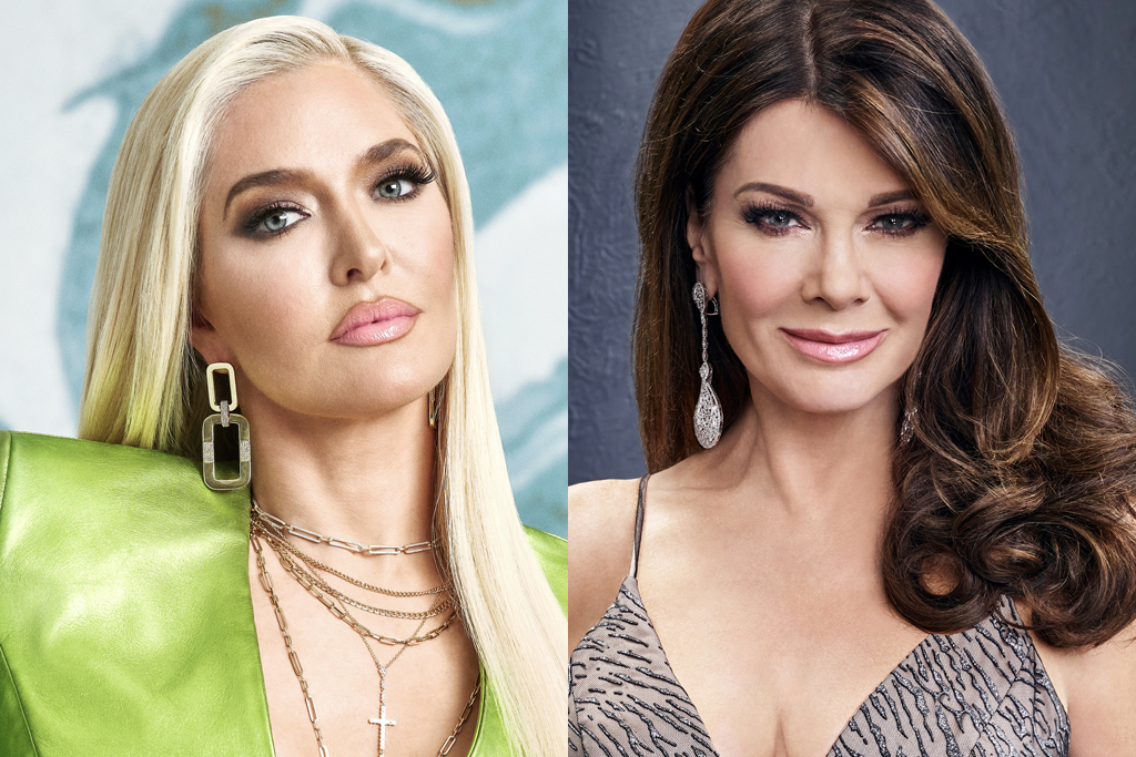 Erika Jayne and Lisa Vanderpump