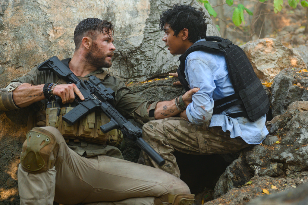 'Extraction' with Chris Hemsworth and Rudhraksh Jaiswal