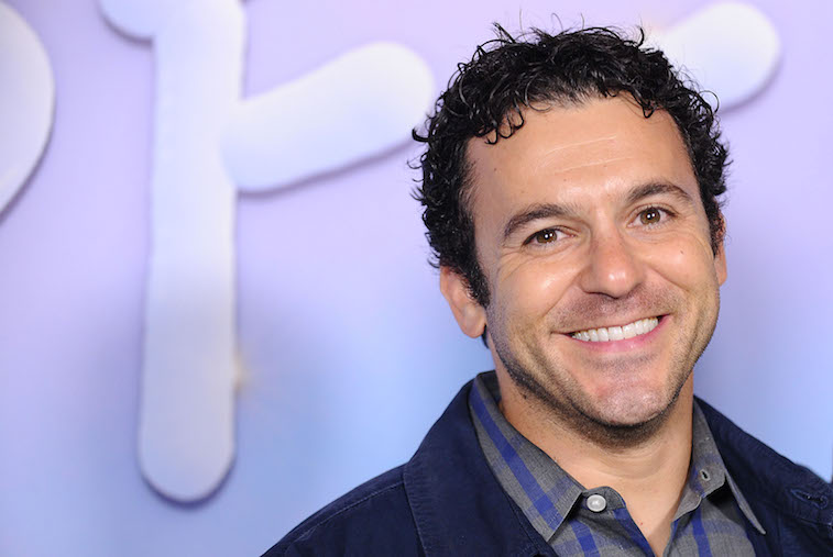 Fred Savage on the red carpet