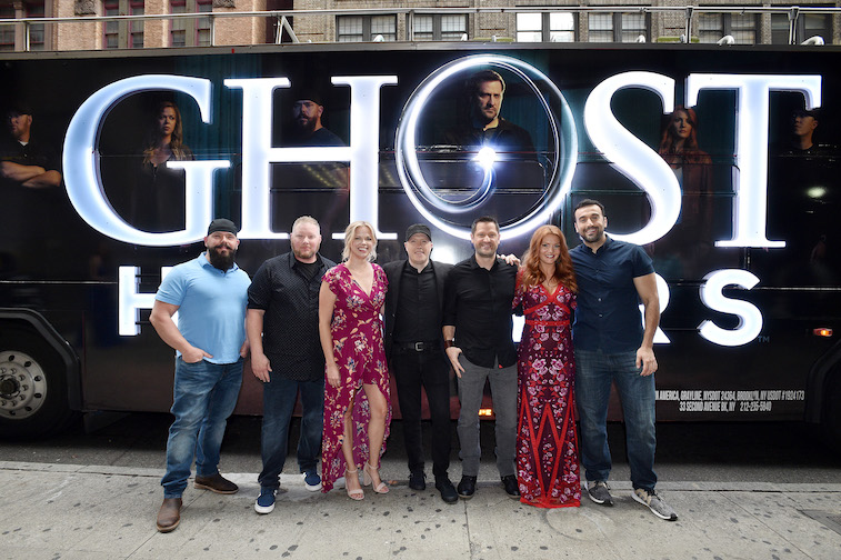 The cast of Ghost Hunters