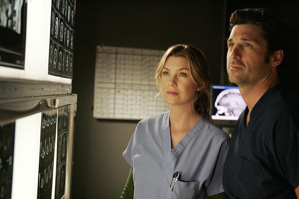 Ellen Pompeo and Patrick Dempsey in 'Grey's Anatomy' Season 4