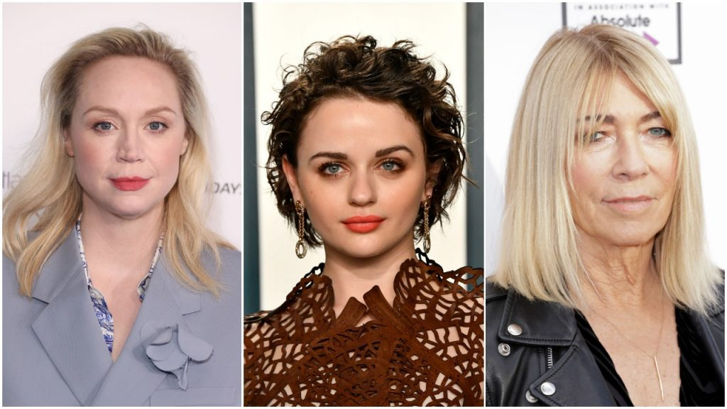 Composite image of Gwendoline Christie, Joey King and Kim Gordon