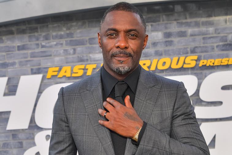 Idris Elba on the red carpet