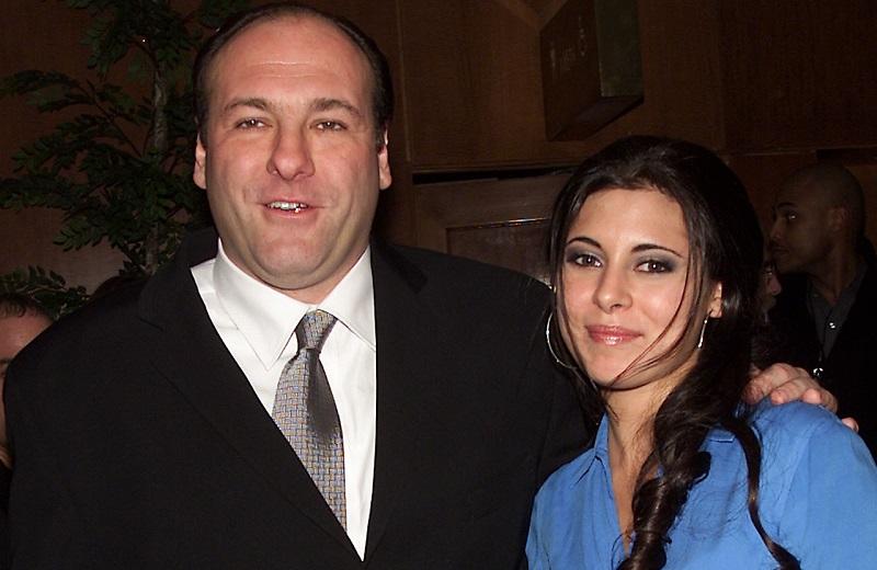 'Sopranos' stars James Gandolfini and Jamie Lynn-Sigler