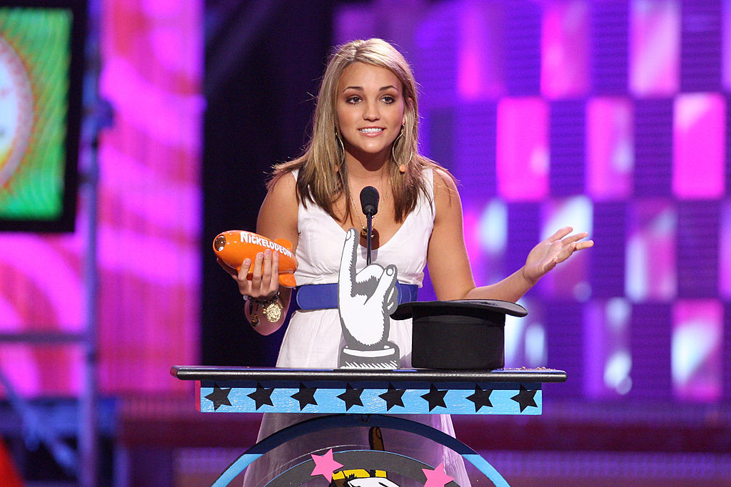 Jamie Lynn Spears at the Nickelodeon Kids Choice Awards