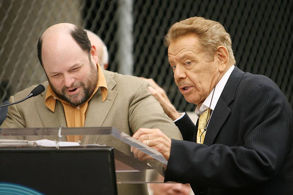 Jason Alexander and Jerry Stille