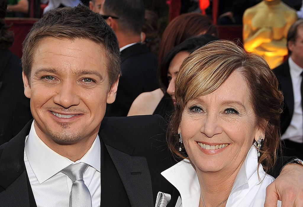 Jeremy Renner and his mom
