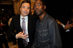 Jimmy Fallon Comments on Playing Chris Rock in Blackface for 'SNL'