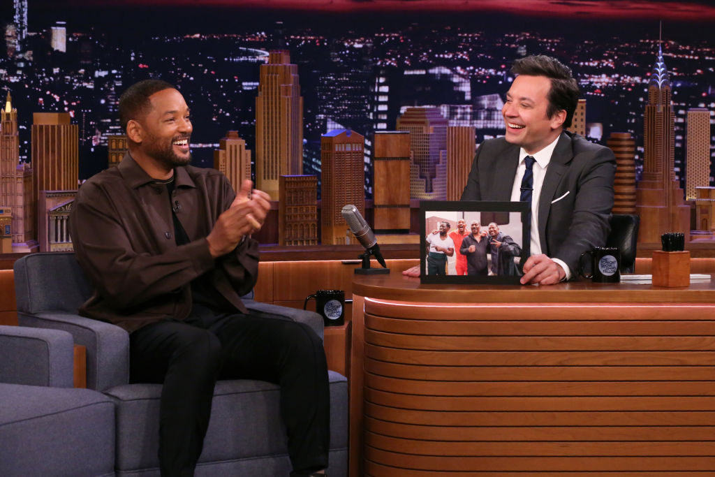 Actor Will Smith during an interview with host Jimmy Fallon on January 9, 2020 Tonight Show Starring Jimmy Fallon