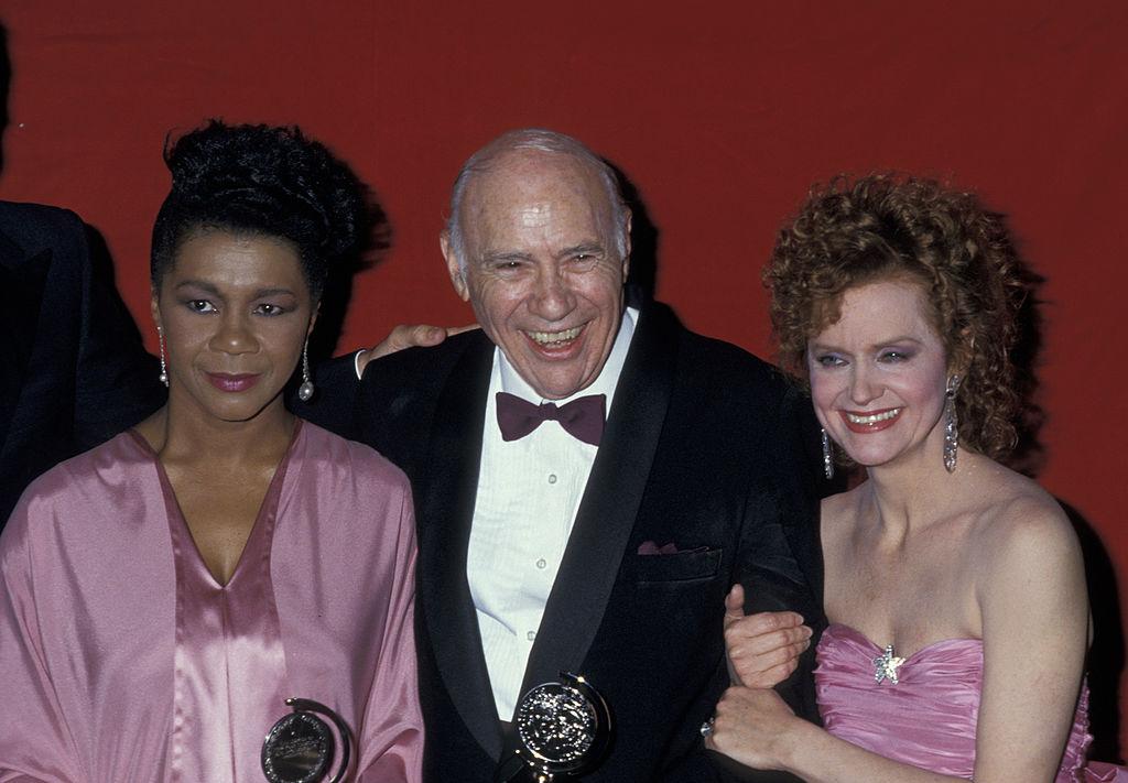 John Randolph at the Tony Awards with Mary Alic and Swoosie Kurtz