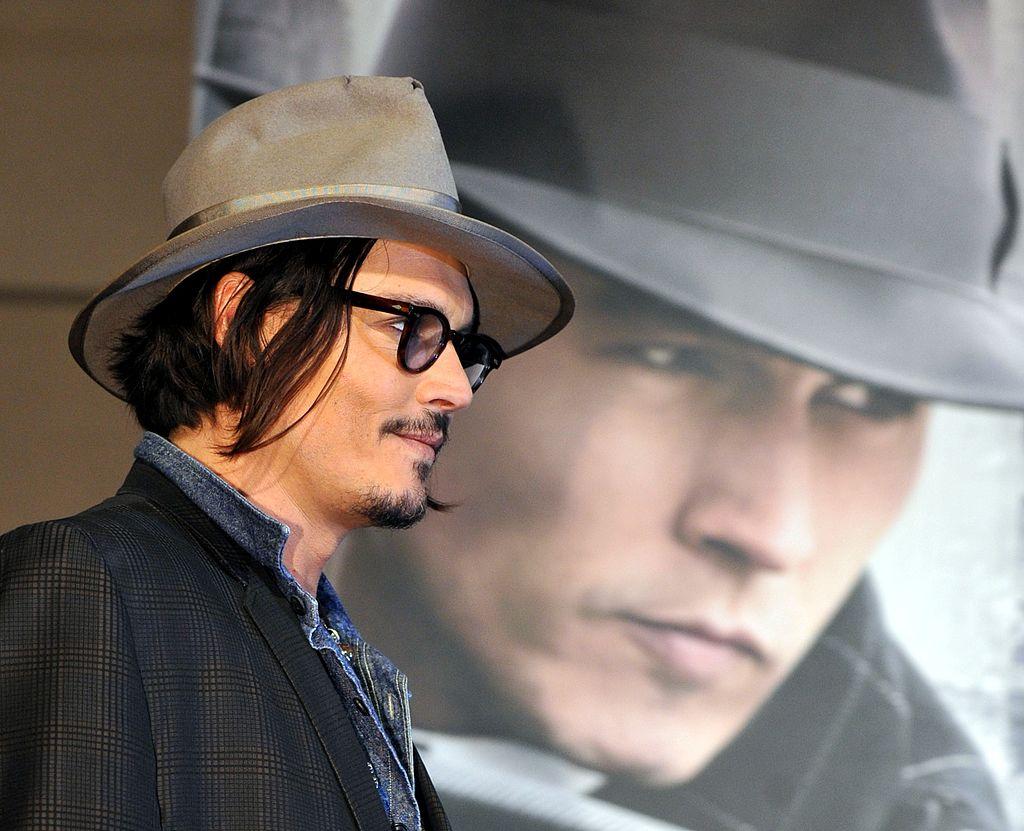 Johnny Depp at Public Enemies premiere