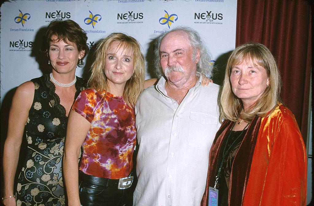 Julie Cypher, Melissa Etheridge, David Crosby, and Jan Crosby