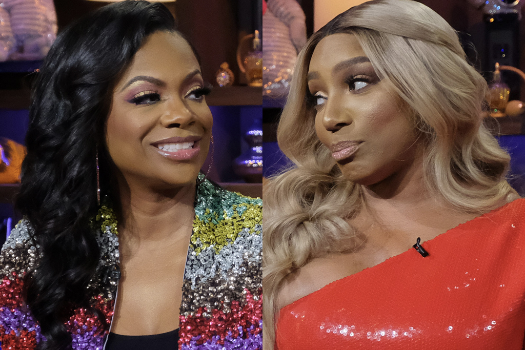Kandi Burruss and Nene Leakes