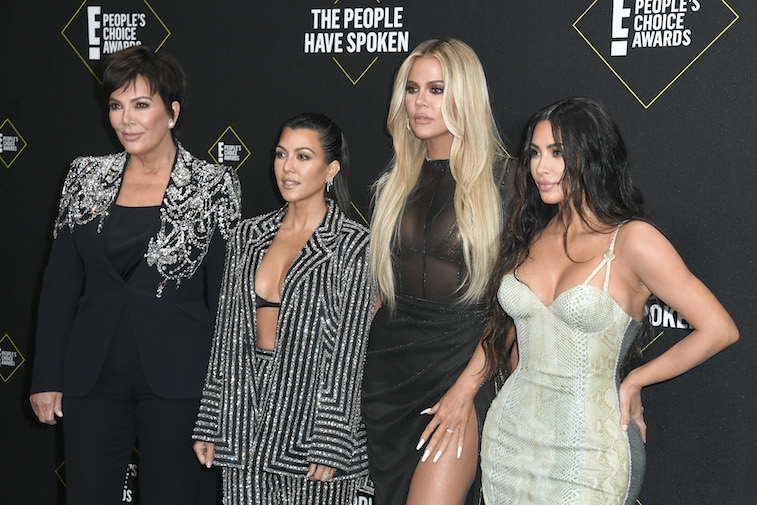 The Kardashians on the red carpet