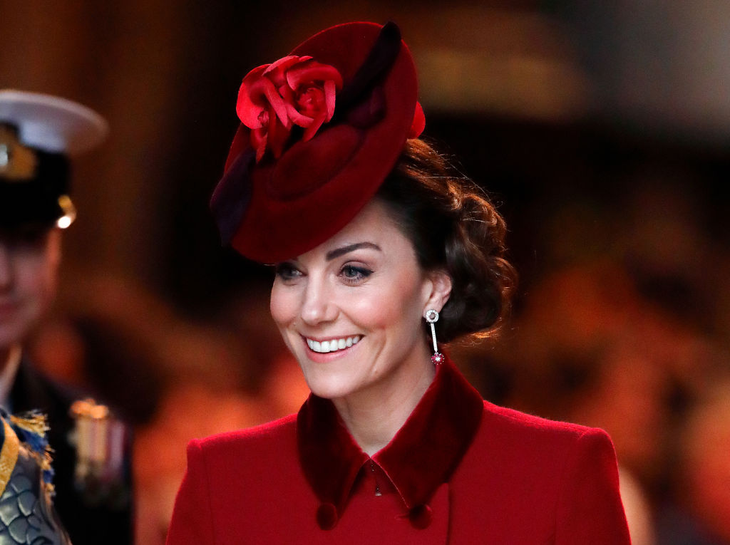 Catherine, Duchess of Cambridge attends the Commonwealth Day Service 2020