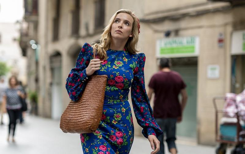 Jodie Comer as Villanelle in 'Killing Eve'