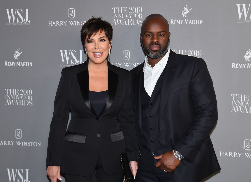 Kris Jenner and Corey Gamble attend the WSJ Magazine 2019 Innovator Awards at MOMA