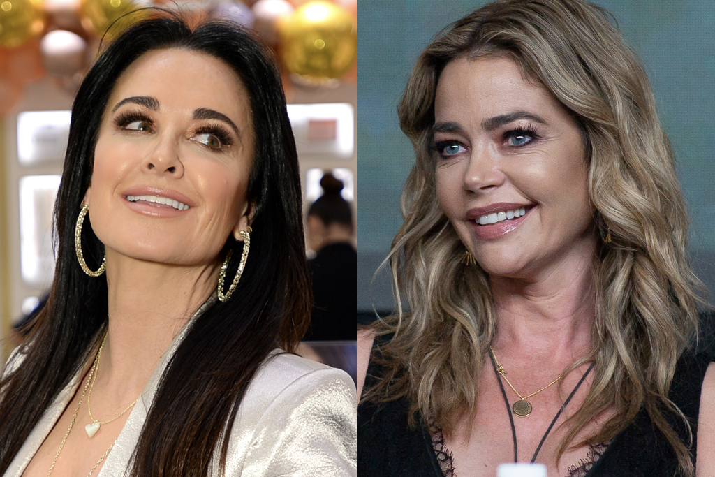 Kyle Richards and Denise Richards