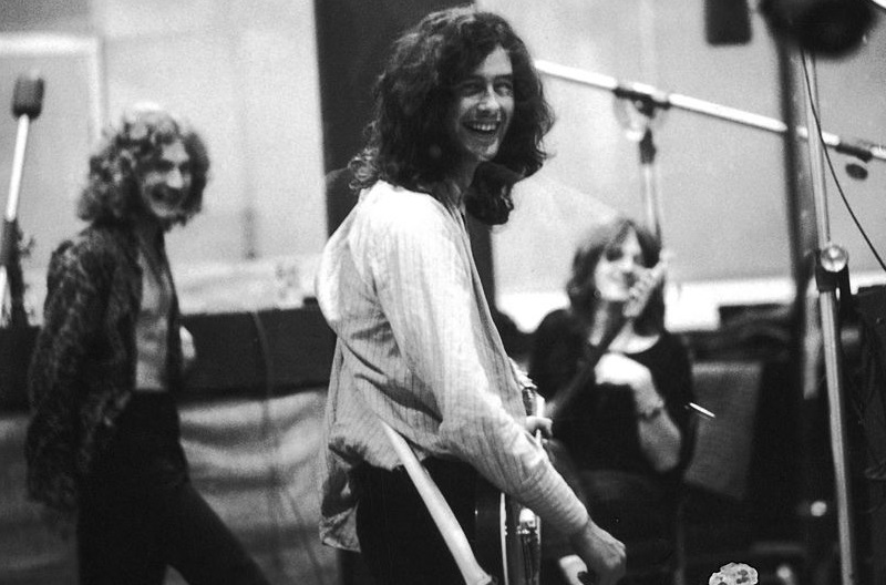 Led Zeppelin in the studio, 1969