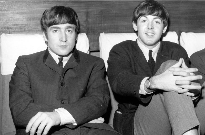 Lennon and McCartney in 1063