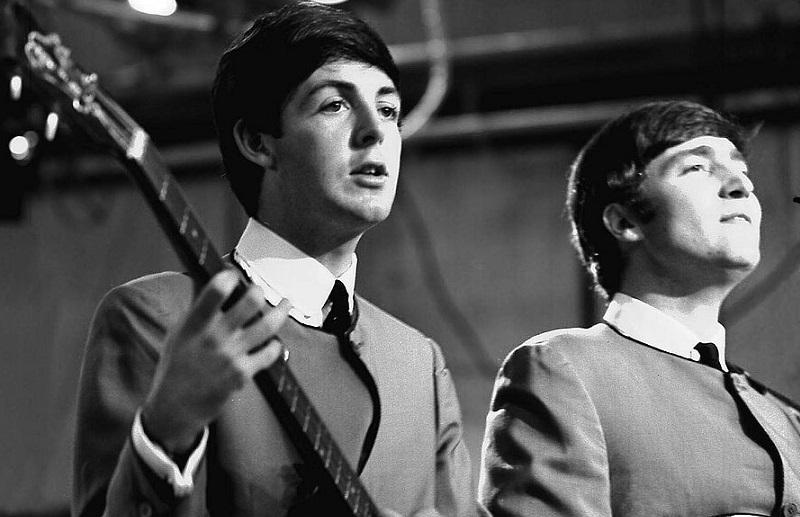 Lennon and McCartney, 1963