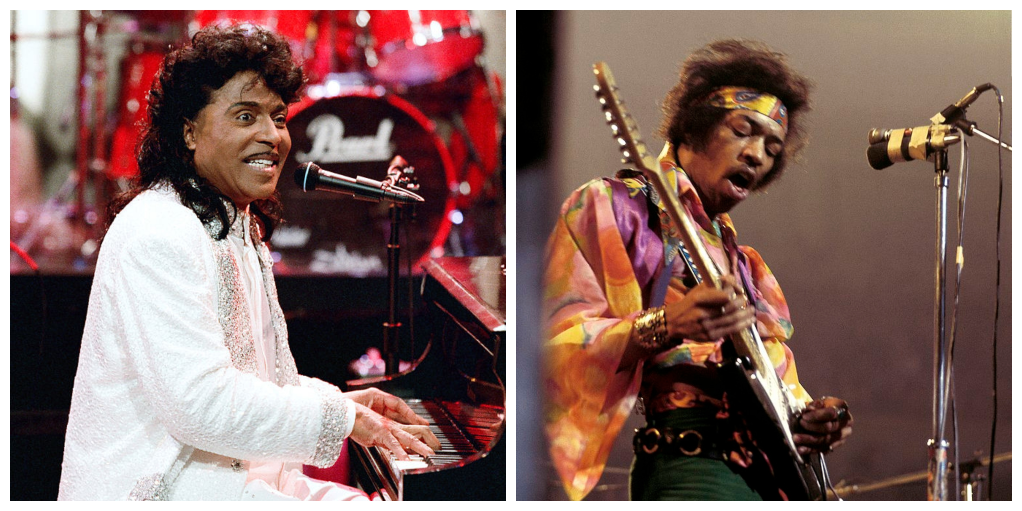 Little Richard, Jimi Hendrix
