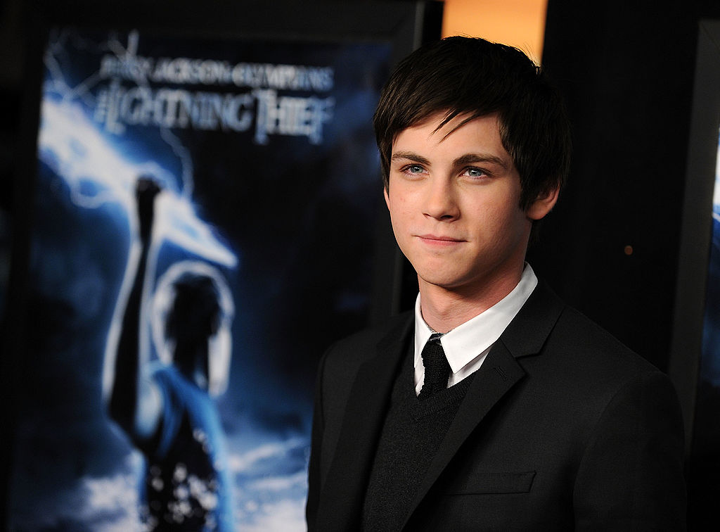 Logan Lerman at the premiere of 'Percy Jackson & The Olympians: The Lightning Thief' on February 4, 2010.