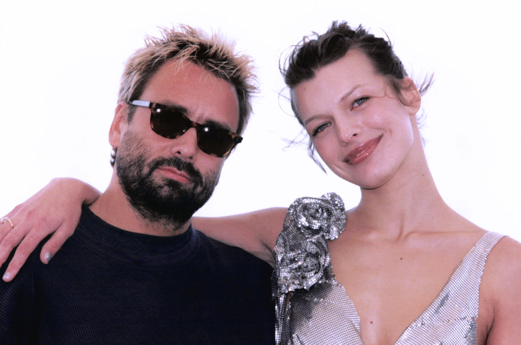 Luc Besson and Milla Jovovich on May 7, 1997