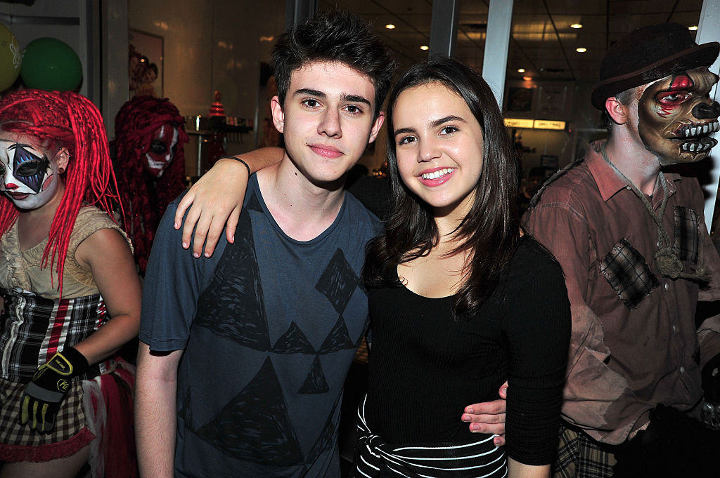 Rhys Matthew Bond and Bailee Madison