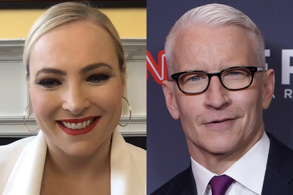 Meghan McCain and Anderson Cooper