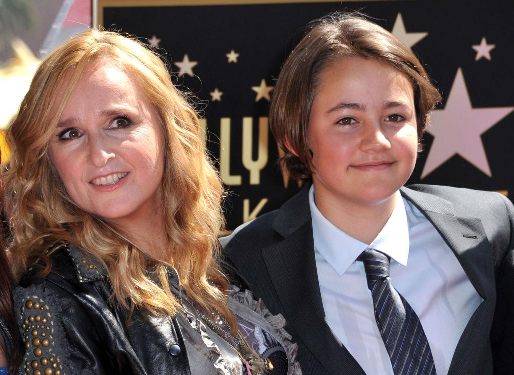 Melissa Etheridge and Beckett Cypher