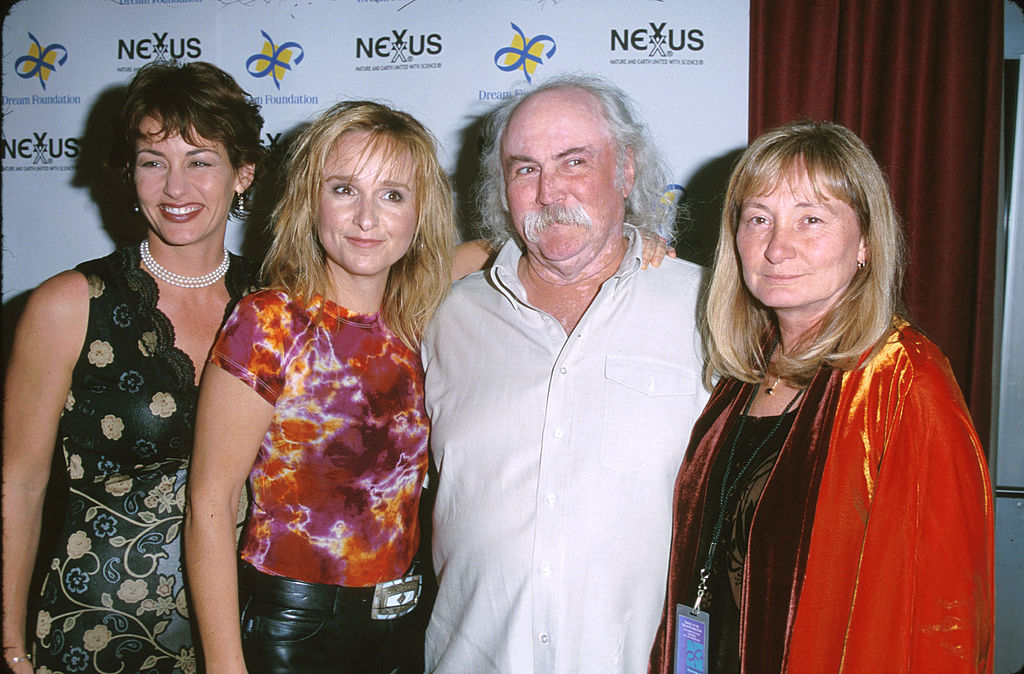 Julie Cypher, Melissa Etheridge, David Crosby, Jan Crosby