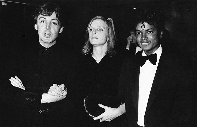 Michael Jackson and the McCartneys