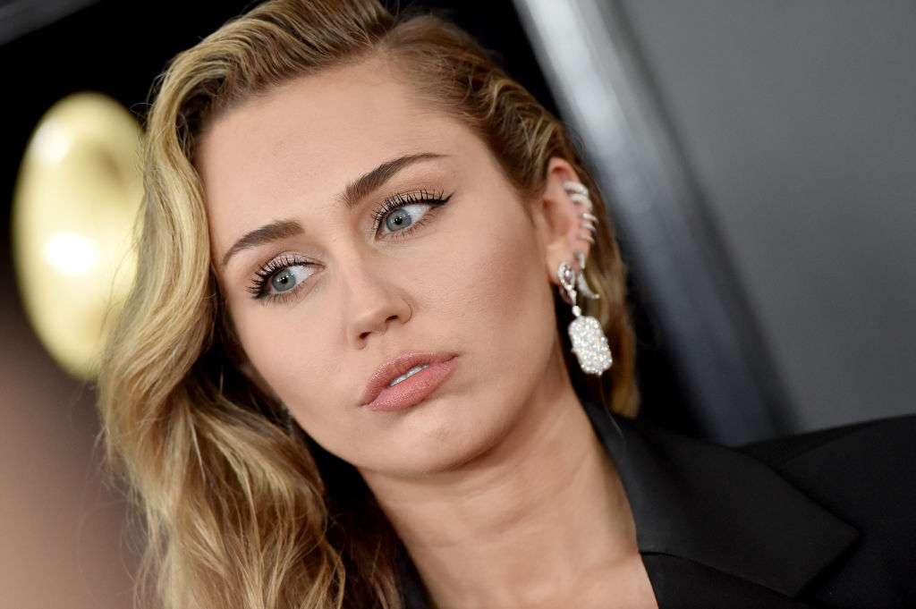 Miley Cyrus attends the 61st Annual GRAMMY Awards on February 10, 2019