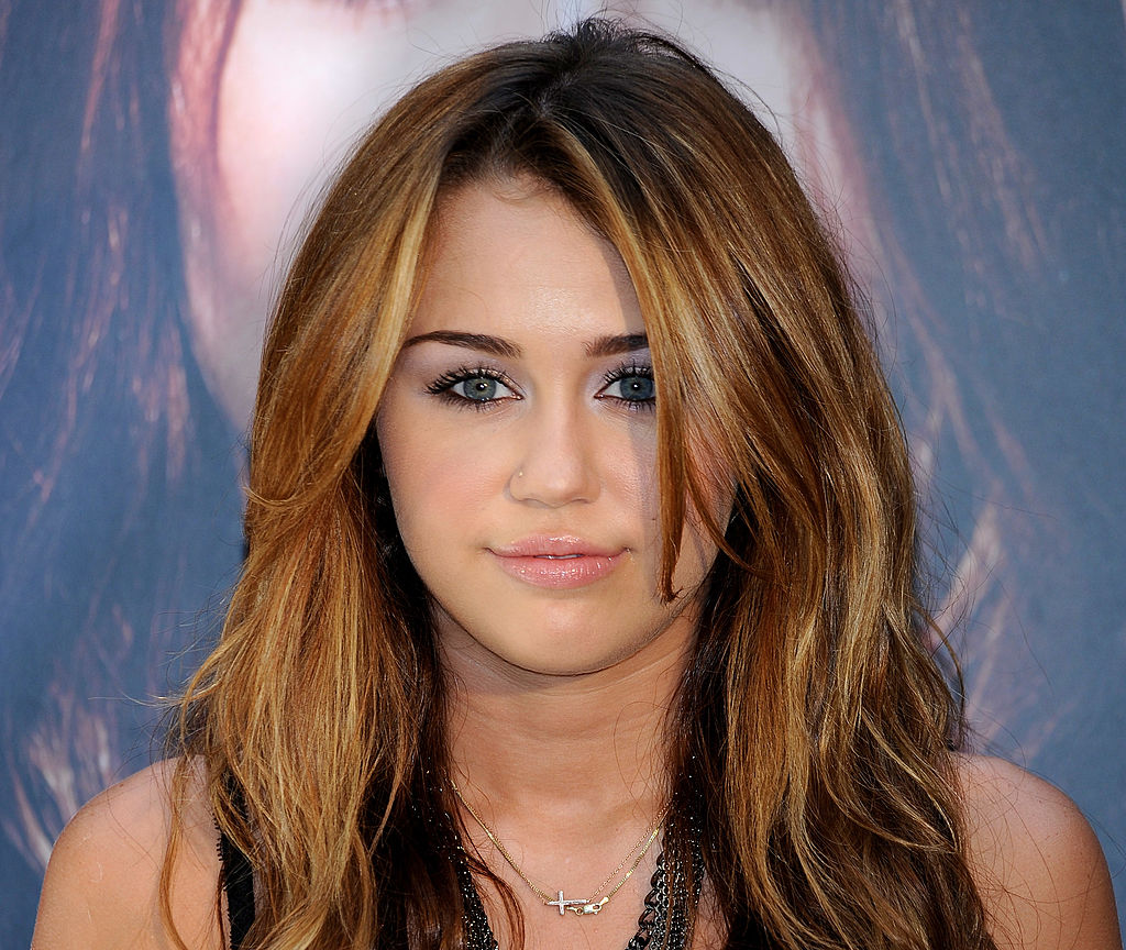 Miley Cyrus presents her new album 'Can't Be Tamed' on May 31, 2010 in Madrid, Spain.
