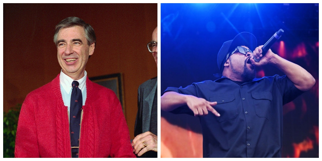 Mister Rogers and Ice Cube