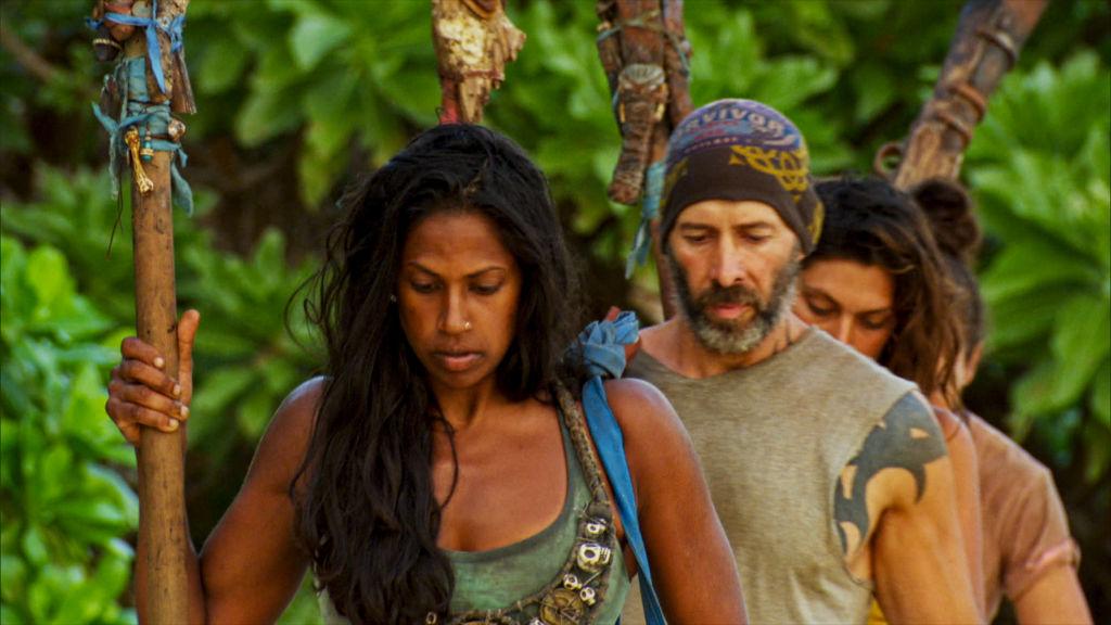 Natalie Anderson and Tony Vlachos of Survivor