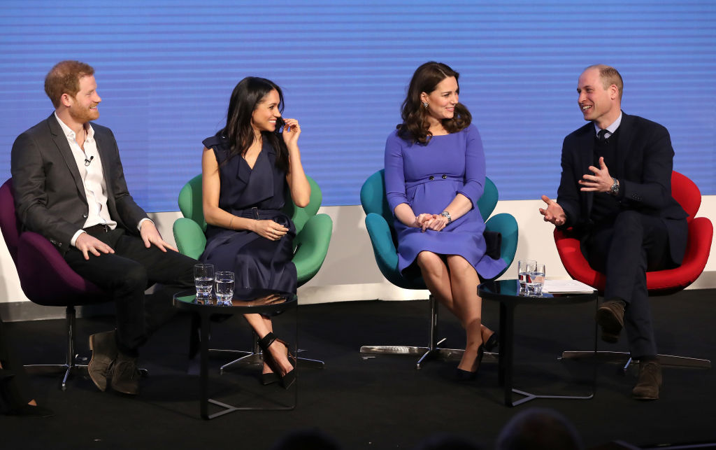 Prince William, Meghan Markle, Kate Middleton, and Prince William attend the first annual Royal Foundation Forum