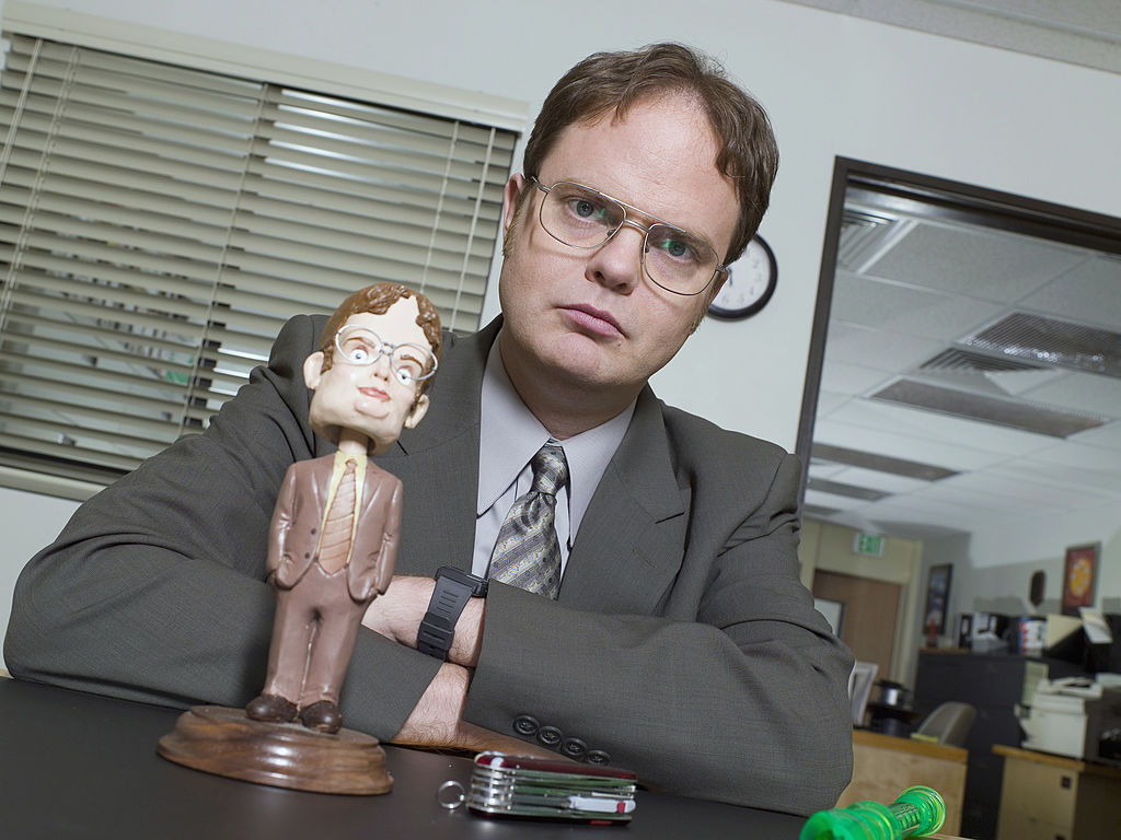 Rainn Wilson as Dwight Schrute on 'The Office'
