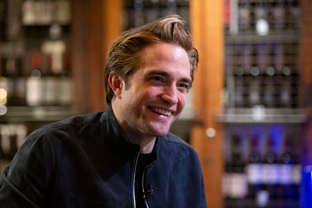 Robert Pattinson on Dec. 1, 2019  filming SUNDAY TODAY WITH WILLIE GEIST.