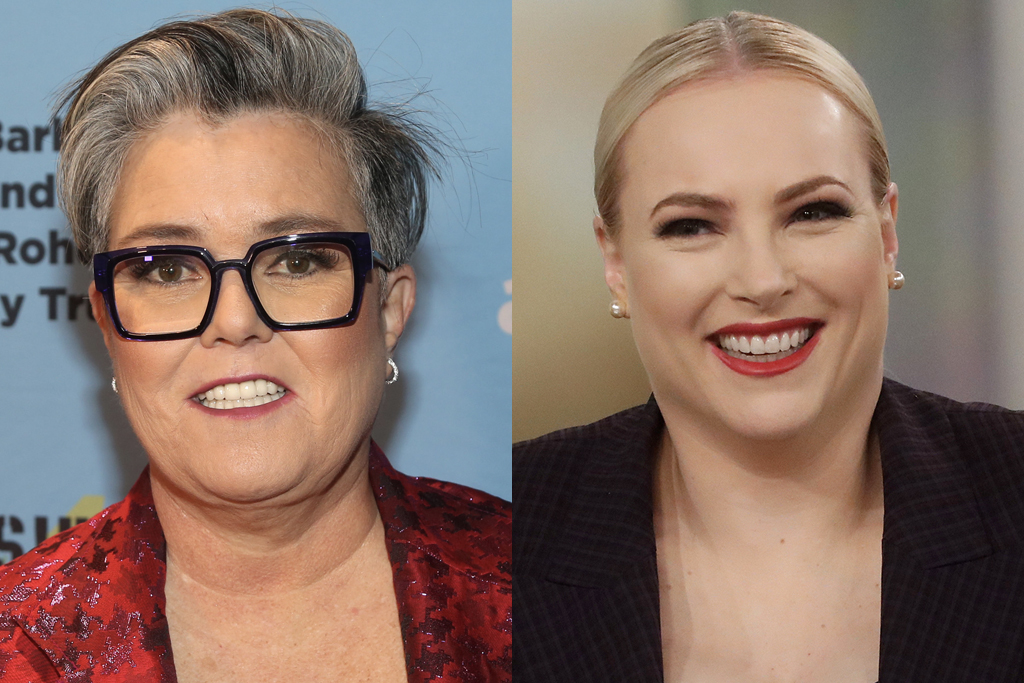 Rosie O'Donnell and Meghan McCain