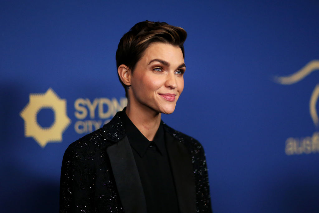Ruby Rose at the 2019 Australians In Film Awards at InterContinental Los Angeles Century City on October 23, 2019.