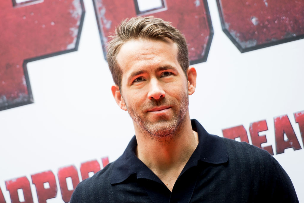 Ryan Reynolds attends 'Deadpool 2' photocall on May 7, 2018