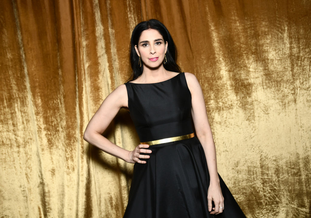 Sarah Silverman attends the 24th Annual Screen Actors Guild Awards on January 21, 2018 in Los Angeles, California