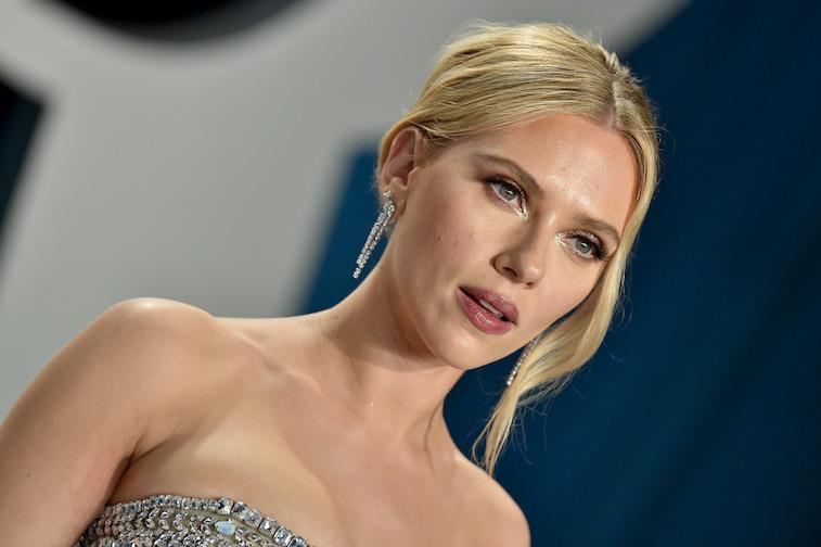 Scarlett Johansson on the red carpet